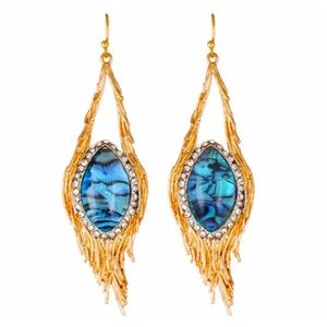 ALEXIS BITTAR • Maldivian Nested Feather Earrings